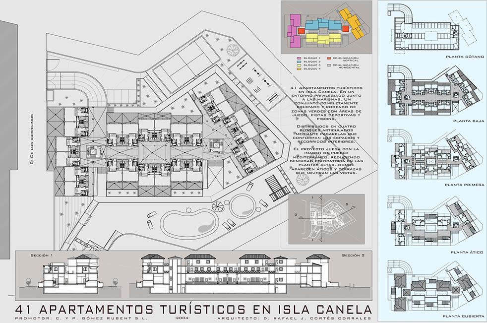 Apartamentos Turísticos. Isla Canela. Huelva
