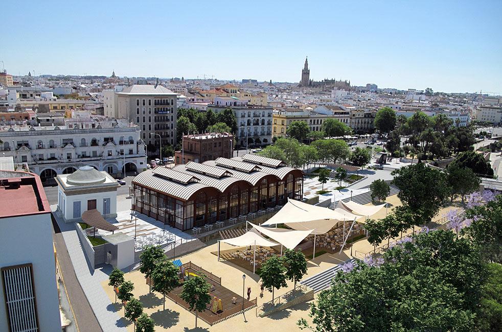 Forma ciudad estudio de arquitectura sevilla mercado - Arquitectura sevilla ...
